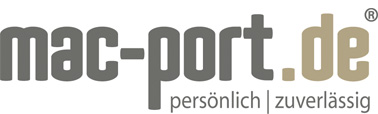 mac-port.de Apple Business Händler - Linkpartner Logo
