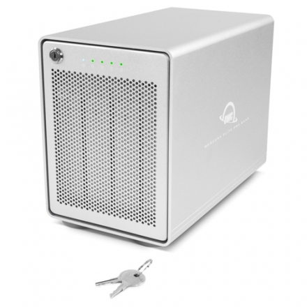 OWC Mercury Elite Pro Quad 4Bay USB-C SoftRAID Gehäuse 0GB
