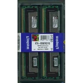 KINGSTON 1GB KIT (2x512MB) FBDIMM DDR2 PC5300