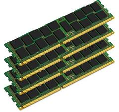128GB RAM Erweiterung 4x FCM 32GB DDR3 DIMM PC3-10600 1333Mhz mit ECC reg., für Mac Pro