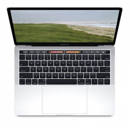"Apple MacBook Pro 13"" TouchBar, 1.7GHz i7, 16GB, 256GB SSD, Intel Iris Plus G. 655, Silber"