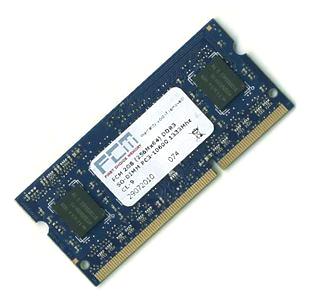 FCM 2GB DDR3 SO-DIMM PC3-10600 1333Mhz
