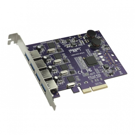 SONNET Allegro Pro USB 3.1 Karte PCIe, 4 Ports