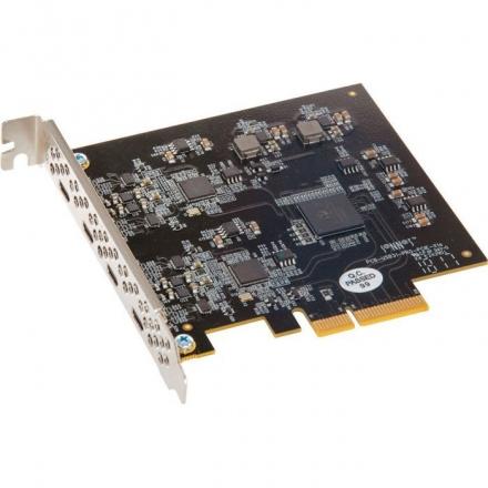 SONNET Allegro USB-C 3.1 PCIe Karte, 4 Port