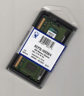 KINGSTON 4GB DDR3L 1.35V SO-DIMM PC3-12800 1600Mhz