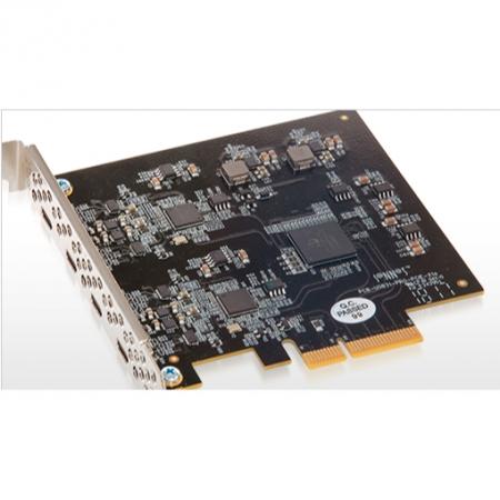 SONNET Allegro USB-C 3.2 PCIe Karte, 4 Port