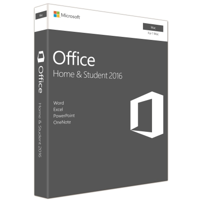 Microsoft Office 2016 Home&Student dt. Mac PKC, GZA-00988