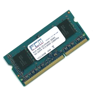 FCM 4GB DDR3 SO-DIMM PC3-8500 1066Mhz