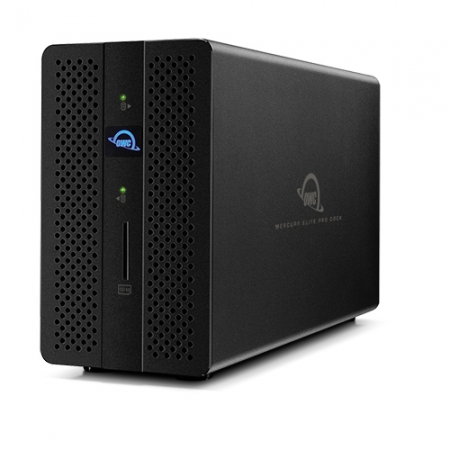 OWC Mercury Elite Pro Dock 0GB TB3 und Dual-RAID