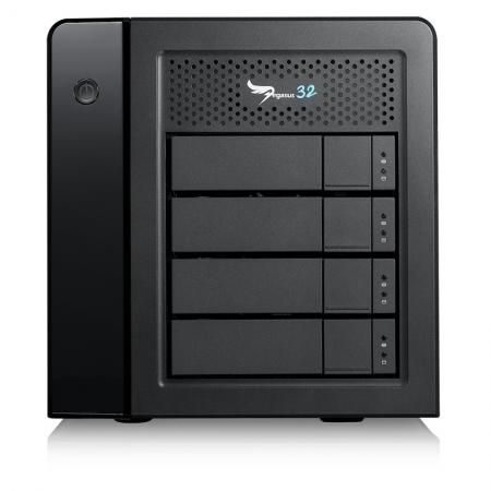 PROMISE Pegasus32 R4 40TB Thunderbolt 3 RAID