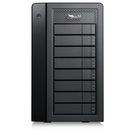 PROMISE Pegasus32 R8 80TB Thunderbolt 3 RAID
