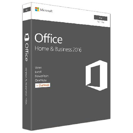 Microsoft Office 2016 Home&Business dt. Mac PKC, W6F-00963