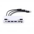 LMP USB-C Attach Dock Pro 4K 10 Port für iMac, USB-C Gen2 (10G), silber