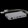 LMP USB-C Display Dock 2 4K, 12-Port, space grau