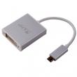 LMP USB-C zu DVI Adapter silber