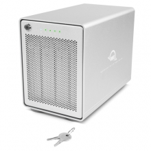OWC Mercury Elite Pro Quad 4Bay USB-C RAID Gehäuse 0GB