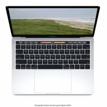 "Apple MacBook Pro 13"" TouchBar, 2.3GHz i5, 8GB, 256GB SSD, Intel Iris Plus G. 655, Silber, MR9U2D/A"