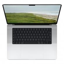 """Apple MacBook Pro 16"""", M1 10-Core CPU, 32-Core GPU, 64GB, 8TB, Silber"""