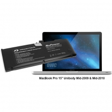 "NuPower 78 Wh Batterie MacBook Pro 15"" (hergestellt 2009-2010), Alu unibody"