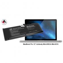 "NuPower 78 Wh Batterie MacBook Pro 15"" (hergestellt 2011-2012), Alu unibody"